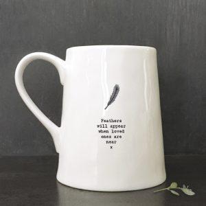 Feather Boxed Mug