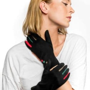Black and Brights Gloves